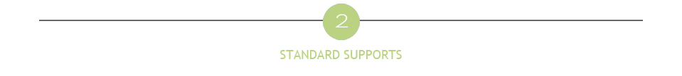 standard supports